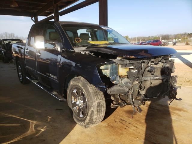 Salvage cars for sale from Copart Tanner, AL: 2007 Nissan Titan XE