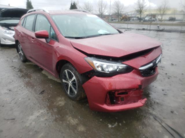 Salvage cars for sale from Copart Eugene, OR: 2020 Subaru Impreza PR