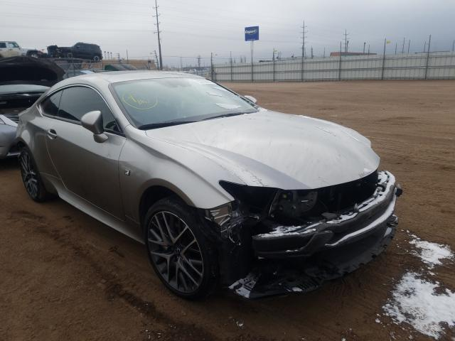 Salvage cars for sale from Copart Colorado Springs, CO: 2018 Lexus RC 350