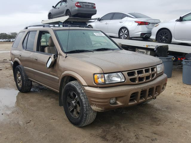 Isuzu Rodeo S salvage cars for sale: 2001 Isuzu Rodeo S
