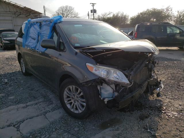 Salvage cars for sale from Copart Corpus Christi, TX: 2013 Toyota Sienna XLE