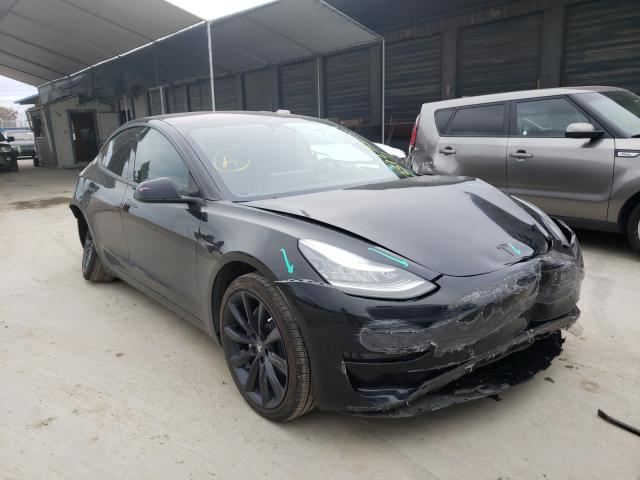 Salvage cars for sale from Copart Hayward, CA: 2018 Tesla Model 3