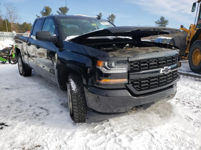 Salvage cars for sale from Copart Exeter, RI: 2017 Chevrolet Silverado