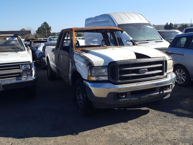 Salvage cars for sale from Copart Vallejo, CA: 2003 Ford F250 Super