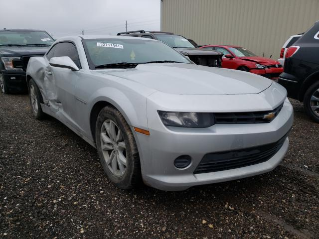 Salvage cars for sale from Copart Houston, TX: 2014 Chevrolet Camaro LS