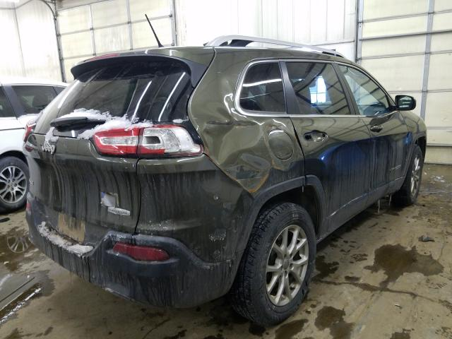 2014 JEEP CHEROKEE L - Right Rear View