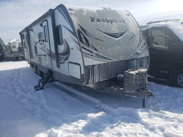 Keystone Passport salvage cars for sale: 2019 Keystone Passport