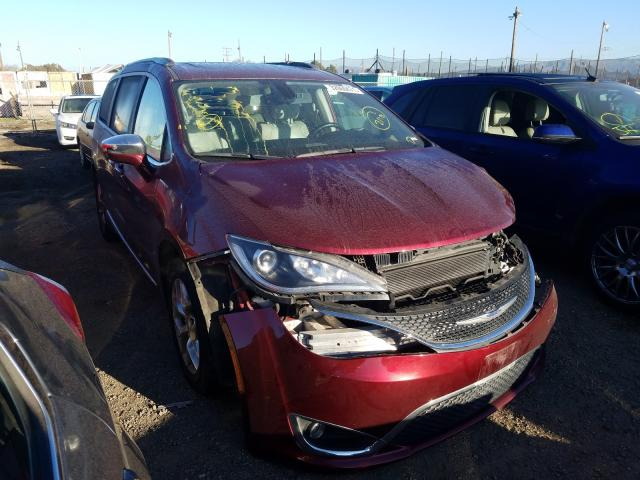 Chrysler salvage cars for sale: 2017 Chrysler Pacifica L