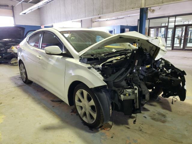 Salvage cars for sale from Copart Indianapolis, IN: 2012 Hyundai Elantra GL