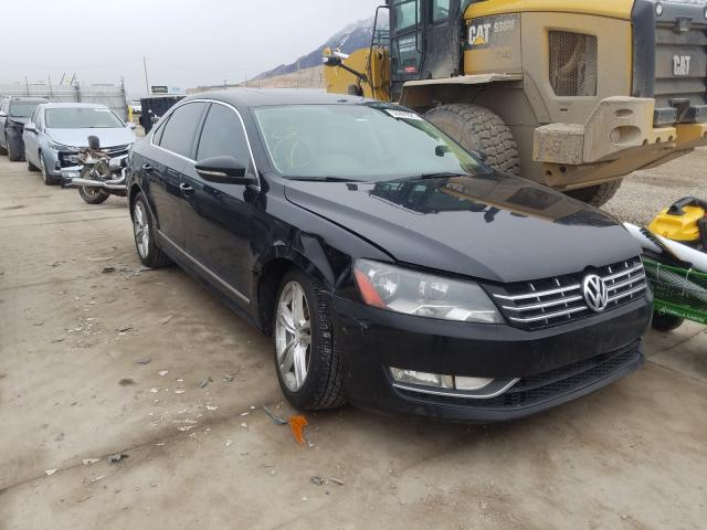 Salvage cars for sale from Copart Farr West, UT: 2012 Volkswagen Passat SEL