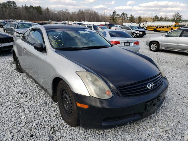 Infiniti G35 salvage cars for sale: 2004 Infiniti G35