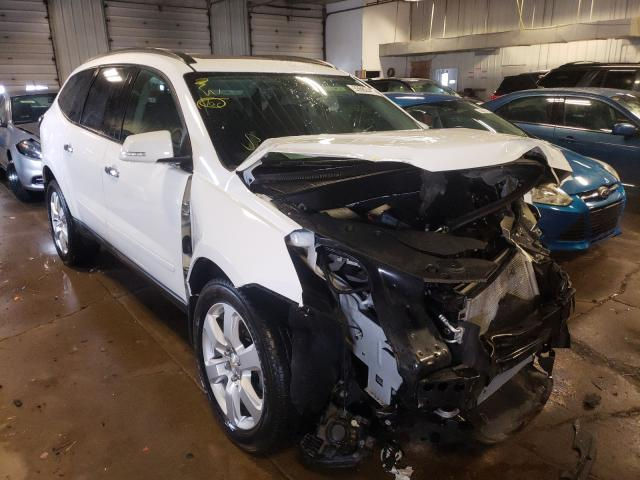 Salvage cars for sale from Copart Cudahy, WI: 2017 Chevrolet Traverse L