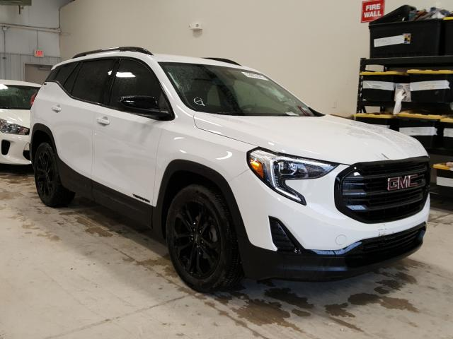 Salvage cars for sale from Copart San Antonio, TX: 2020 GMC Terrain SL