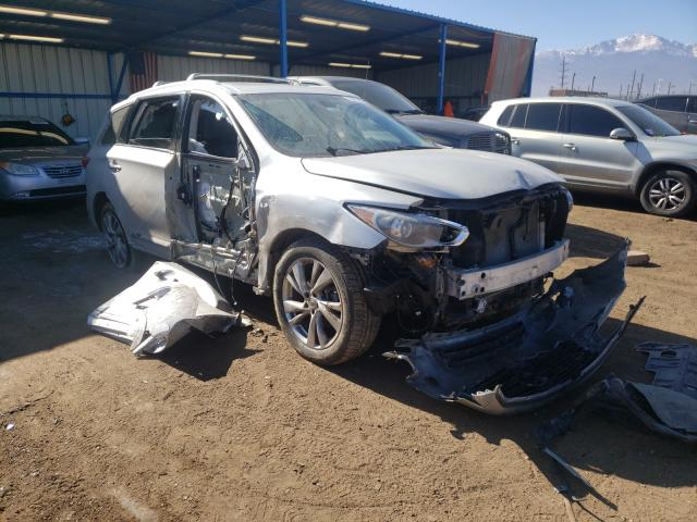 Salvage cars for sale from Copart Colorado Springs, CO: 2014 Infiniti QX60