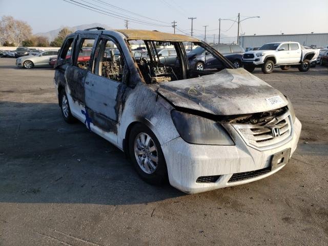 Salvage cars for sale from Copart Colton, CA: 2008 Honda Odyssey EX