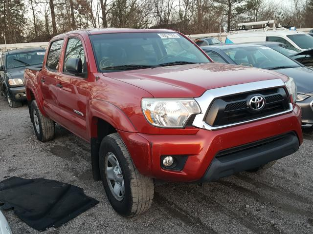 Salvage cars for sale from Copart Hueytown, AL: 2015 Toyota Tacoma DOU