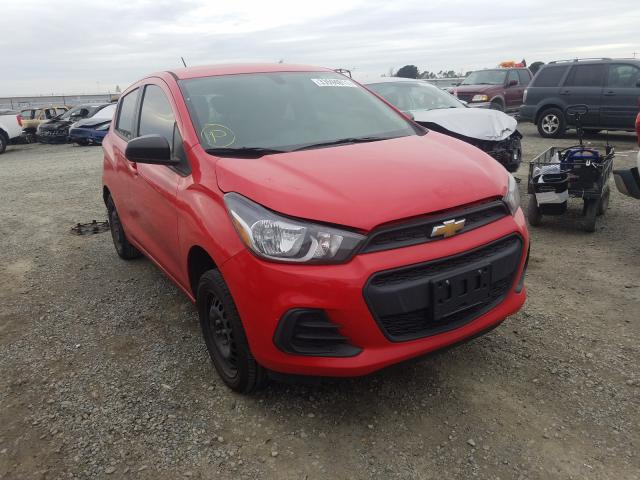 Salvage cars for sale at Antelope, CA auction: 2016 Chevrolet Spark LS