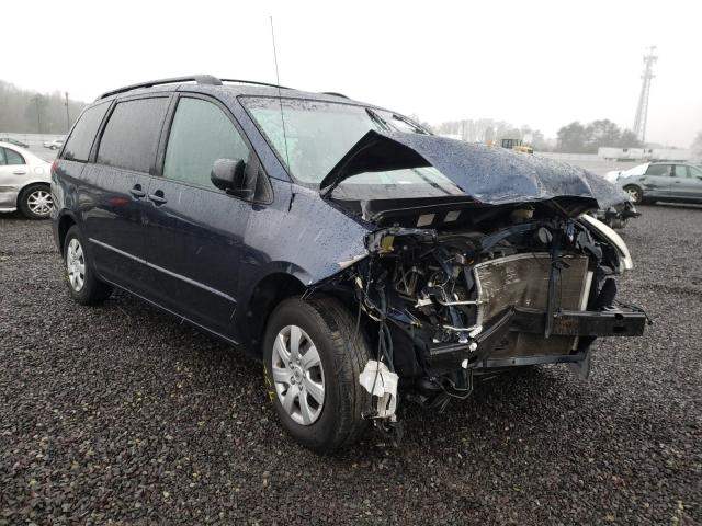 Salvage cars for sale from Copart Fredericksburg, VA: 2005 Toyota Sienna LE