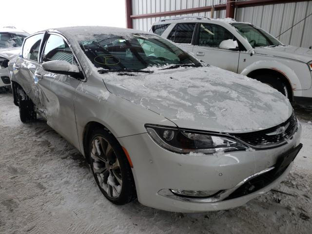 Salvage cars for sale from Copart Helena, MT: 2015 Chrysler 200 C