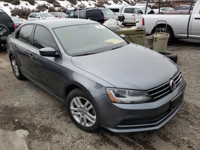 Salvage cars for sale from Copart Reno, NV: 2018 Volkswagen Jetta S