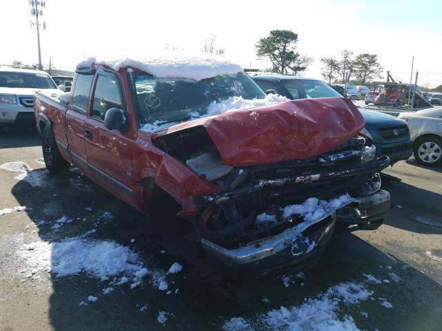 Salvage cars for sale from Copart Brookhaven, NY: 2002 Chevrolet Silverado
