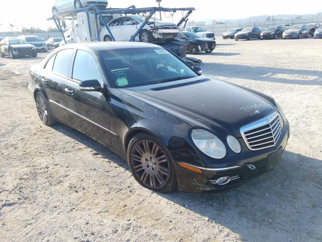 Mercedes-Benz salvage cars for sale: 2008 Mercedes-Benz E 350