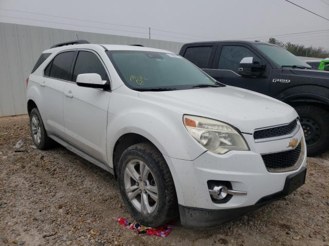 Salvage cars for sale from Copart Mercedes, TX: 2013 Chevrolet Equinox LT