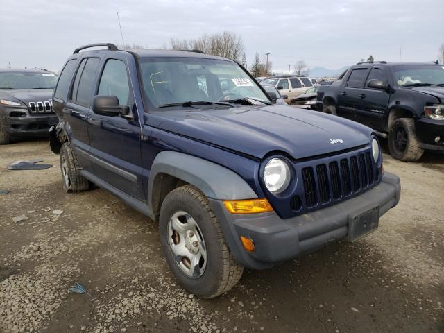 Vehiculos salvage en venta de Copart Eugene, OR: 2006 Jeep Liberty SP