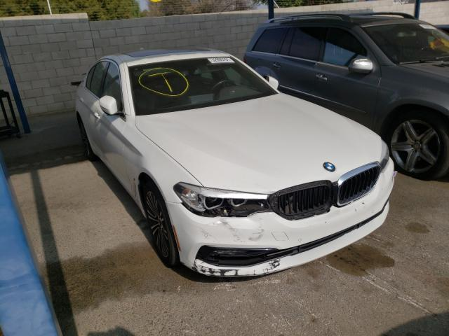 Salvage cars for sale from Copart Colton, CA: 2018 BMW 530E