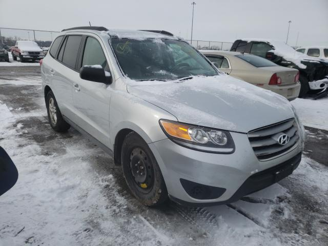 Salvage cars for sale from Copart Moraine, OH: 2012 Hyundai Santa FE G