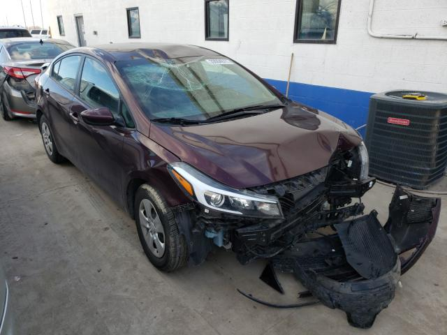 Salvage cars for sale from Copart Farr West, UT: 2017 KIA Forte LX
