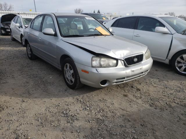 Hyundai Elantra salvage cars for sale: 2001 Hyundai Elantra