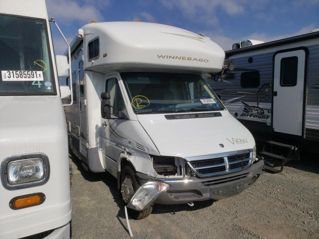 Salvage cars for sale from Copart San Diego, CA: 2007 Winnebago Sprinter 3