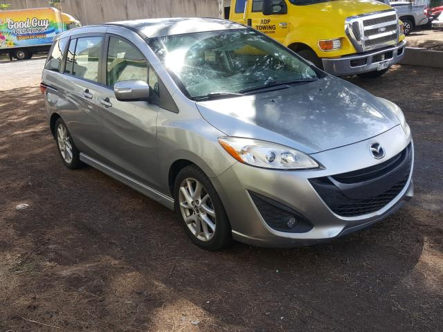 Salvage cars for sale from Copart Kapolei, HI: 2014 Mazda 5 Touring