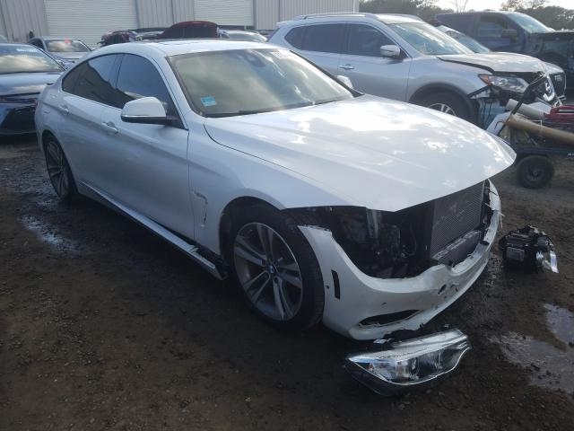 Salvage cars for sale from Copart Jacksonville, FL: 2016 BMW 428 I Gran