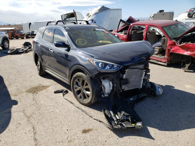 Salvage cars for sale from Copart Tucson, AZ: 2017 Hyundai Santa FE S