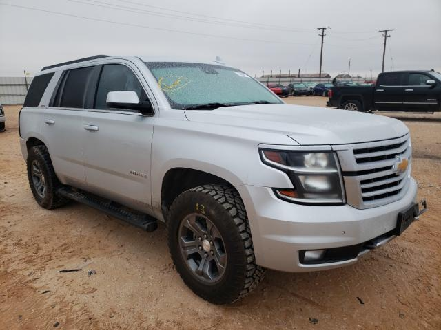 Salvage cars for sale from Copart Andrews, TX: 2017 Chevrolet Tahoe K150