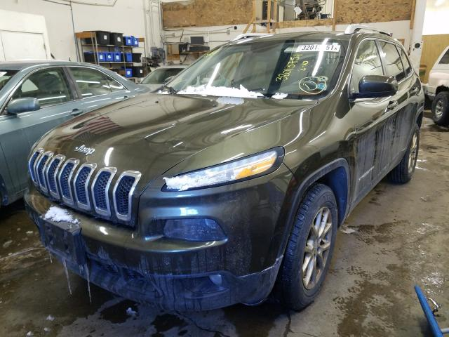 2014 JEEP CHEROKEE L - Left Front View