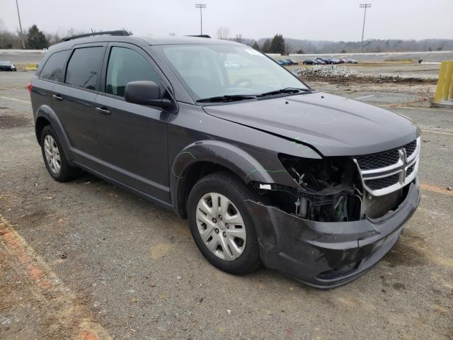 Salvage cars for sale from Copart Concord, NC: 2015 Dodge Journey SE