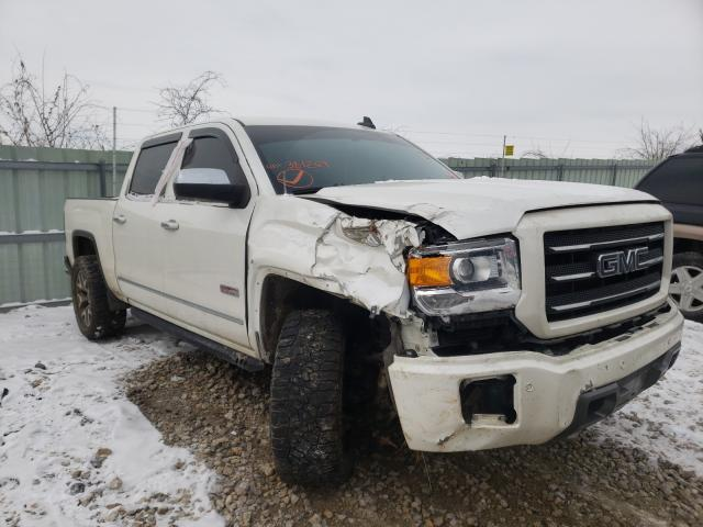 Salvage cars for sale from Copart Kansas City, KS: 2015 GMC Sierra K15