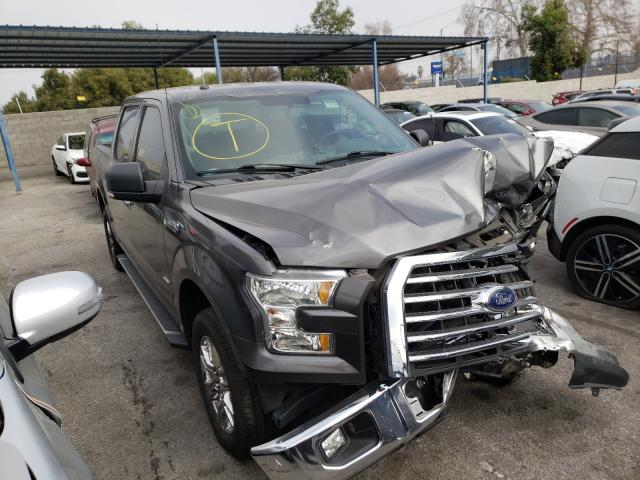 Salvage cars for sale from Copart Colton, CA: 2016 Ford F150 Super