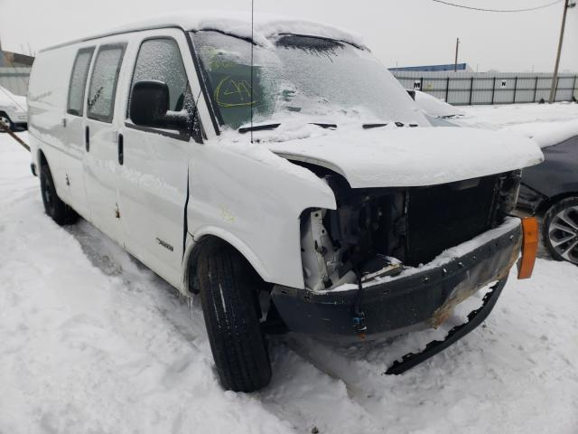 Salvage cars for sale from Copart Columbus, OH: 2005 Chevrolet Express G3