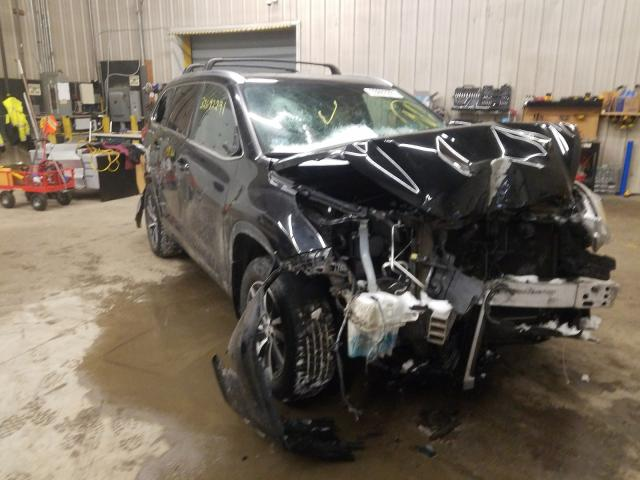 Salvage cars for sale from Copart Candia, NH: 2018 Toyota Highlander