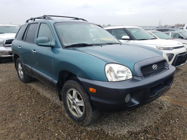 Salvage cars for sale from Copart Anderson, CA: 2002 Hyundai Santa FE G