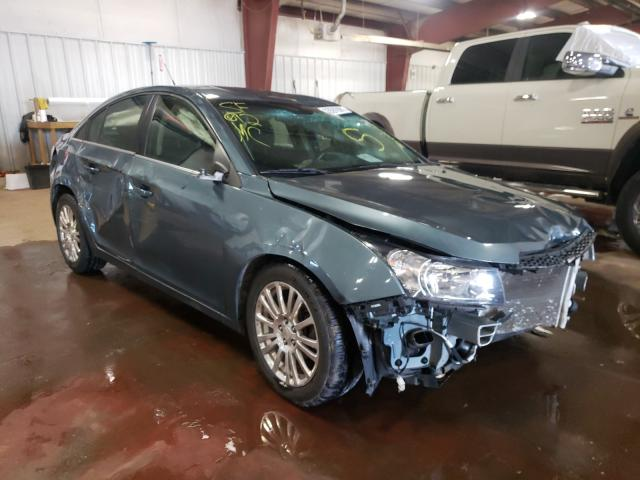 Salvage cars for sale from Copart Lansing, MI: 2012 Chevrolet Cruze ECO