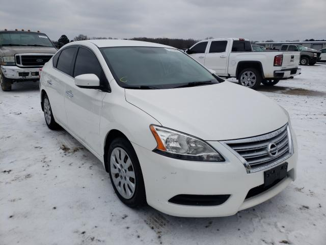 Salvage cars for sale from Copart Conway, AR: 2013 Nissan Sentra S