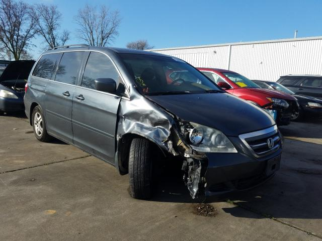 Salvage cars for sale from Copart Sacramento, CA: 2005 Honda Odyssey EX