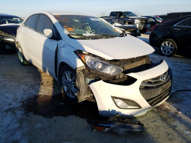 Salvage cars for sale from Copart Kansas City, KS: 2013 Hyundai Elantra GT