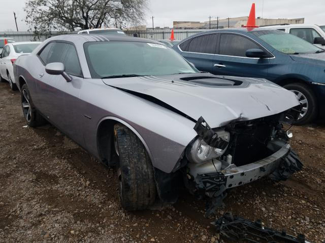 Salvage cars for sale from Copart Mercedes, TX: 2014 Dodge Challenger