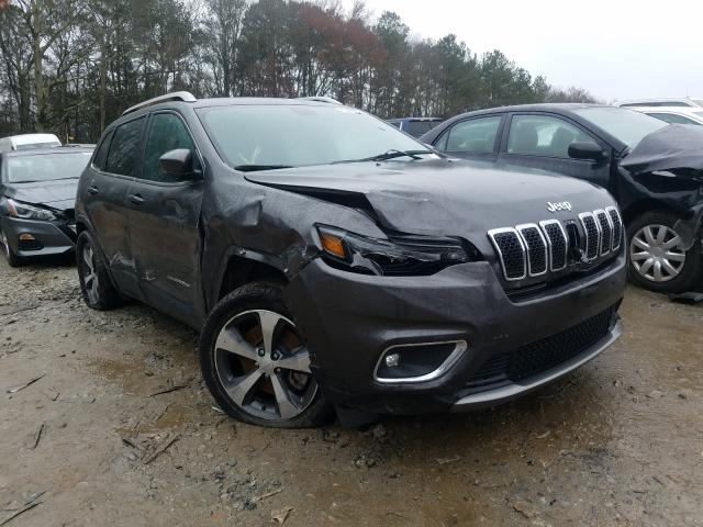 Salvage cars for sale from Copart Austell, GA: 2019 Jeep Cherokee L